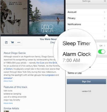 Pandora Radio's Alarm Clock Feature Is Now Available For The iPad