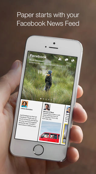 Facebook Unveils A Major Update For Its Paper App With Group Updates And More