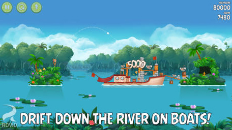 Angry Birds Rio Update Offers Another New Episode Based On 'Rio 2'