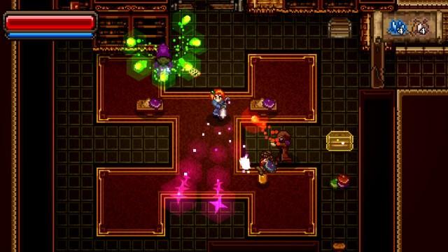 Fight Your Way Through The Dark Dungeons Of Rocketcat Games' Roguelike Wayward Souls