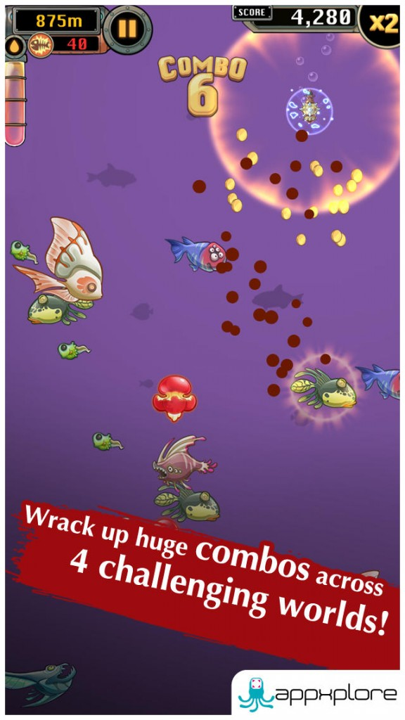 Save The Seas As You Rise Through The Ranks In Mobfish Hunter