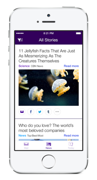 Yahoo Mail Update Brings News, Search And More Into The Mix