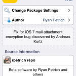Popular Jailbreak Dev Releases A Tweak That Patches The Mail App's Encryption Bug