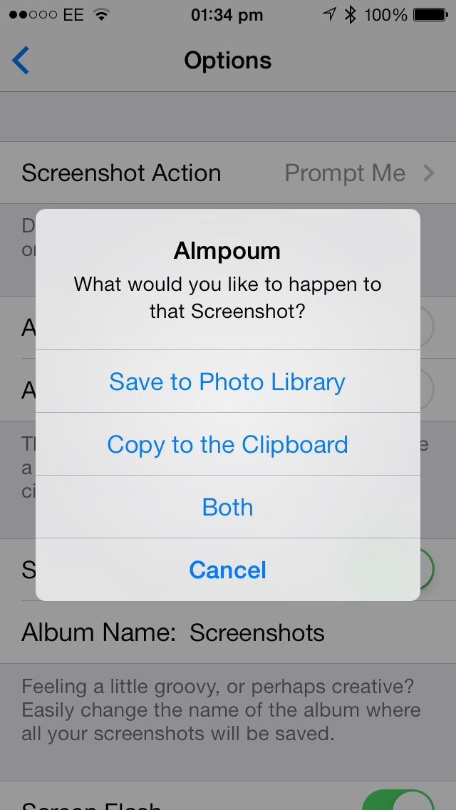 Cydia Tweak: Almpoum Offers A Smarter Way To Manage iOS Screenshots