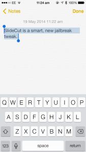 SlideCut Is A New Jailbreak Tweak That Brings Clever Keyboard Shortcuts To iOS