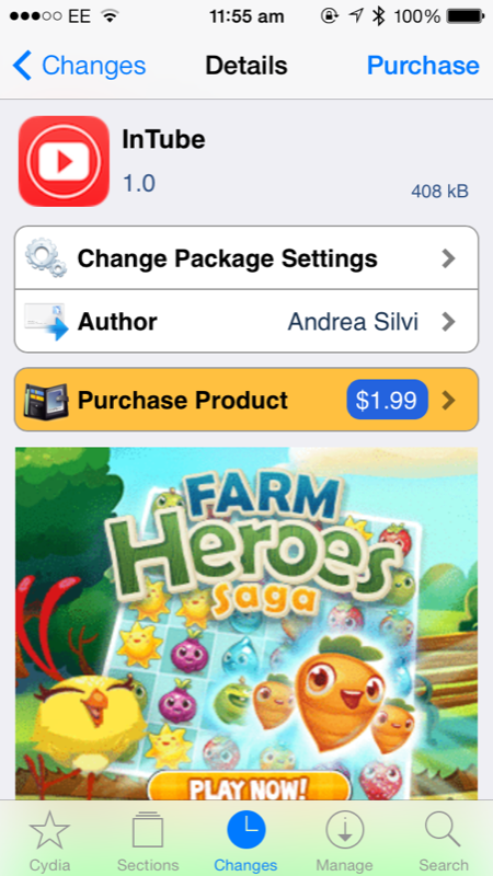 Cydia Tweak: How To Download HD Movies From Inside The YouTube iOS App