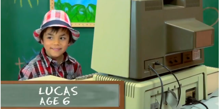 Watch This Video Of Kids Being Introduced To The Apple II