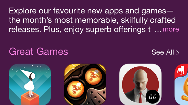 Apple Launches New 'Best Of April' Section On The App Store