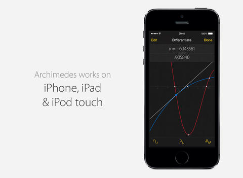 Archimedes Scientific Calculator App Goes 2.0 With iOS 7 Redesign And More
