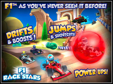 Fast And Fun Formula Racing Awaits In Codemasters' F1 Race Stars For iOS
