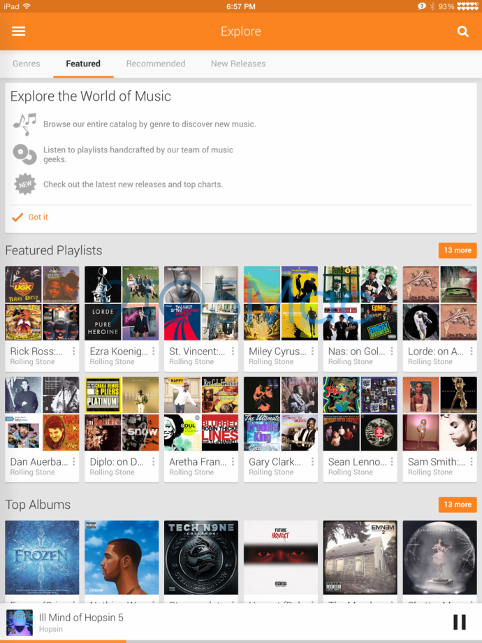 Google Play Music For iPad To Reach The App Store Soon