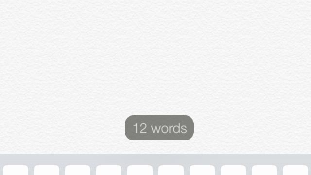 Cydia Tweak: NotesCounter Adds A Useful Live Word Count To The iOS Notes App
