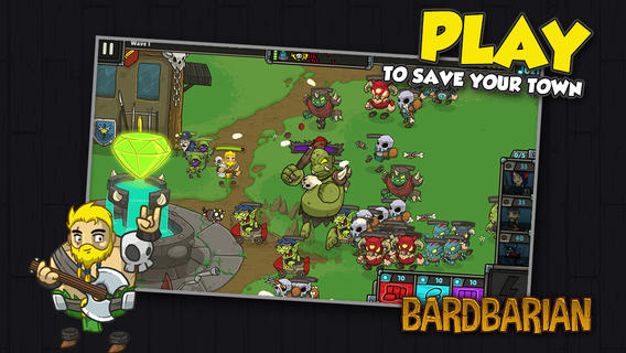 Bardbarian Goes Free-To-Play, Gets New Units From Other Popular Games