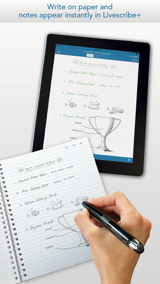 Livescribe+ Gets Updated To Add Auto-Send For Evernote