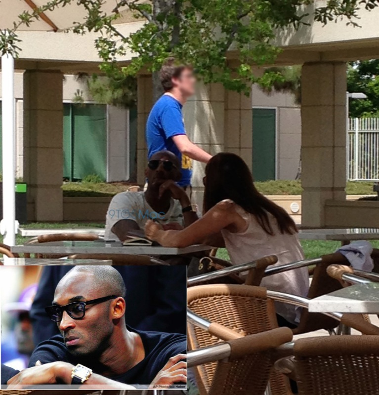 LA Lakers' Kobe Bryant Discusses iWatch, iOS 8's Healthbook With Apple?