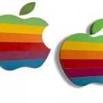 Apple's Iconic Rainbow Logo Campus Signs Are Being Auctioned Off For $10,000