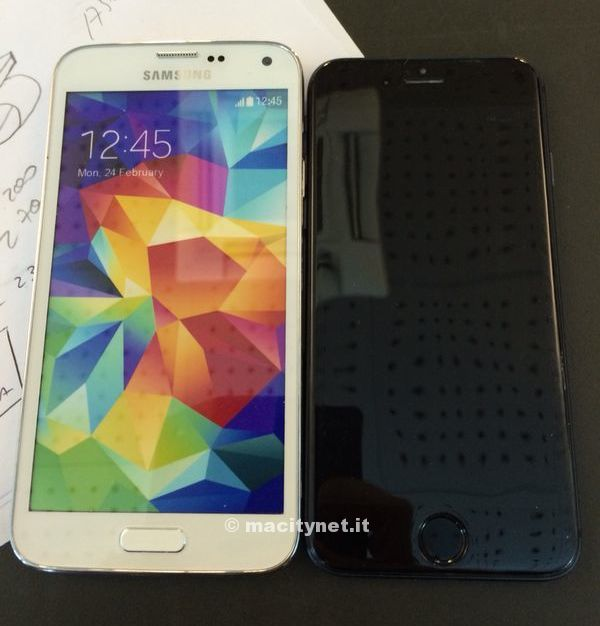 How Would A Bigger, 4.7-Inch iPhone 6 Compare Against Samsung's Galaxy S5?