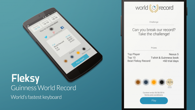 Guinness Names Fleksy The Fastest Smartphone Keyboard In The World