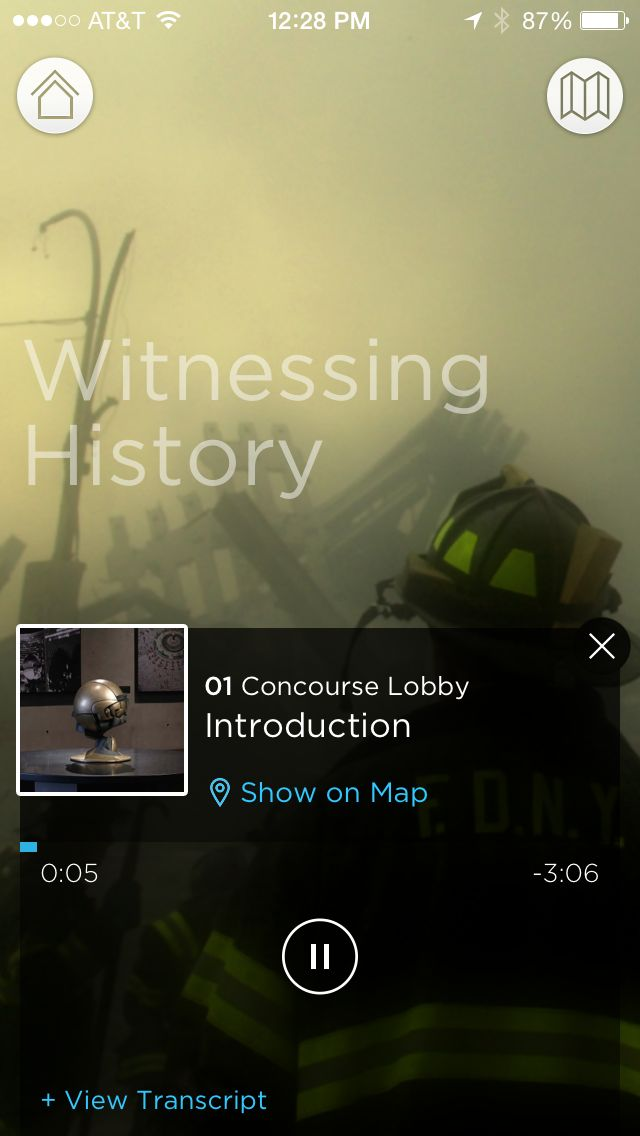 Museum Audio Guide Witnessing History Tour