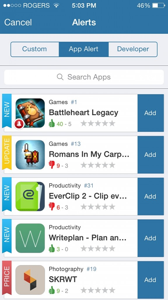 AppZapp Is Back On iPhone To Notify You About The Latest App Happenings