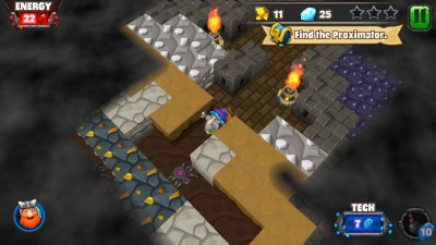 Mine Your Way Through Challenging Puzzles In Dwarven Den From Backflip Studios