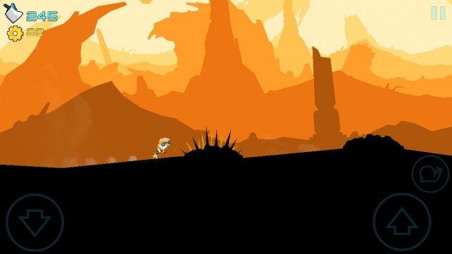 Travel Through Space And Time In Endless Runner Gear Jack Black Hole From Crescent Moon Games