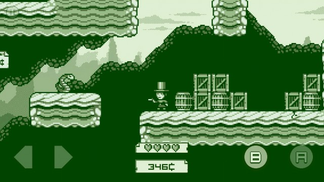 Relive Your Childhood In 2-bit Cowboy, A Gameboy-Inspired Platformer For iOS