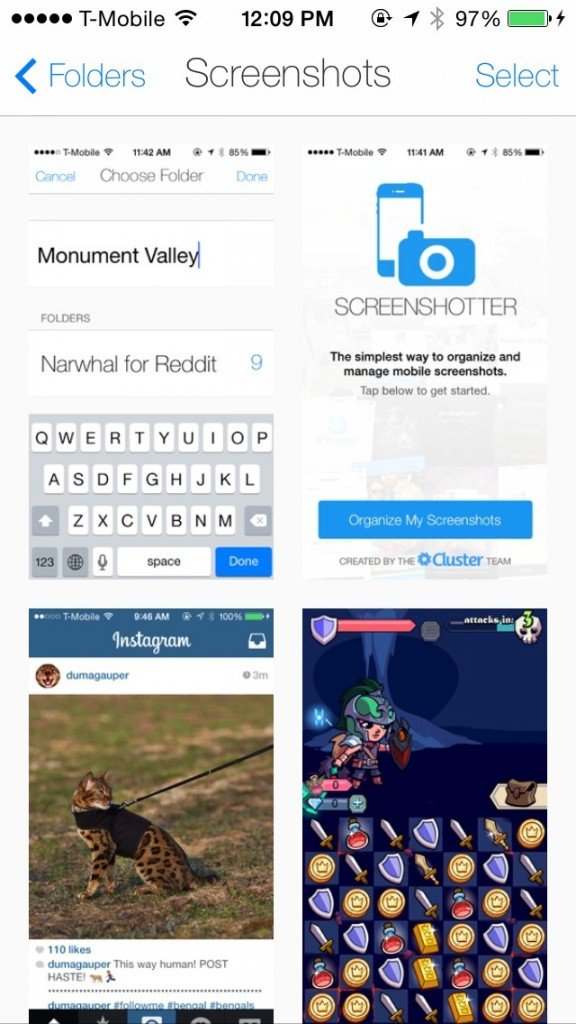 Organize And Manage Your iPhone Screenshots With Screenshotter