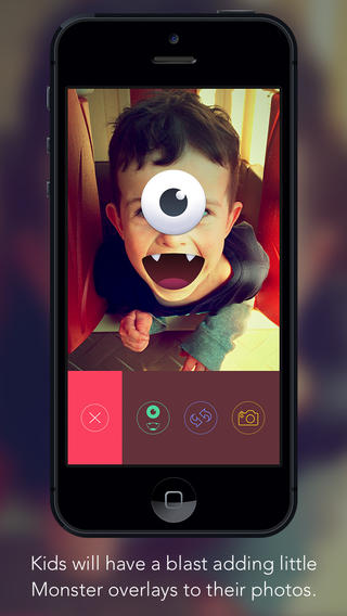 Say Hello To KidCam, The Kid-Friendly Camera App Parents Are Sure To Love