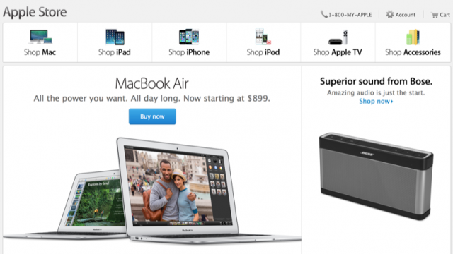 Apple Overtakes Staples, Grabs The No. 2 Position In Online Retail