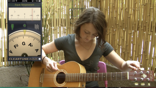 AppAdvice Daily: Learn Guitar Using Your iPhone Session 1 - Guitar Tuners