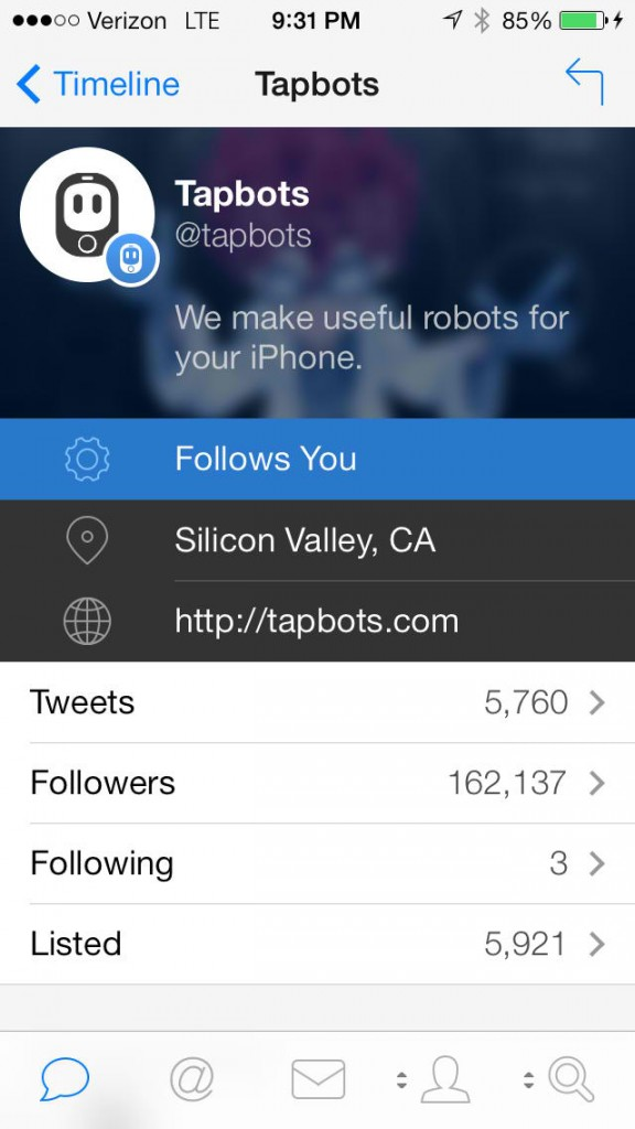 At Twitter's Behest, Tapbots Issues Mandatory Updates To Tweetbot