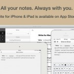 Write For Mac Now Available, iPhone And iPad Versions Updated With New Features