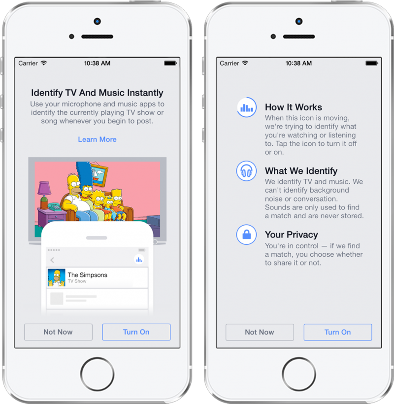 Updated: Facebook To Launch Shazam-Like Media Tagging Service For Mobile