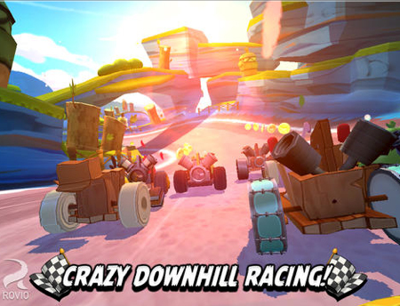 Angry Birds Go! Update Makes Kart Racing Even More Fun