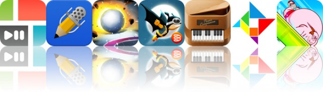 Today's Apps Gone Free: PicPlayPost, Notability, Dodge And Roll And More