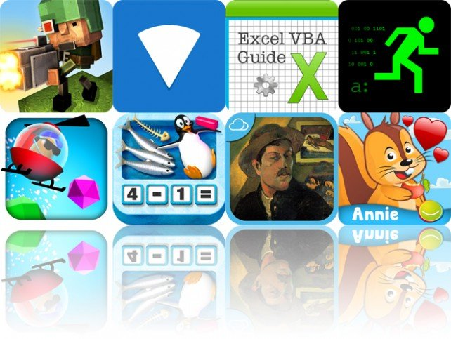 Today's Apps Gone Free: Block Fortress: War, Viz, VBA Guide For Excel And More
