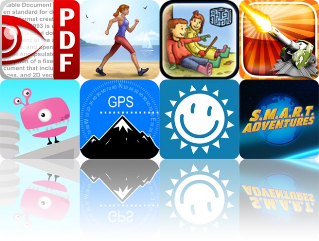 Today's Apps Gone Free: PDF Expert, Walk Log, Hanna And Henri And More