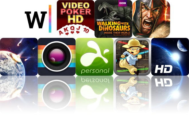 Today's Apps Gone Free: Creative Writer, Dakazu Poker, Walking With Dinosaurs And More