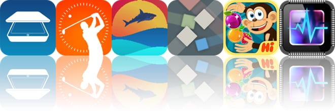 Today's Apps Gone Free: PDF Scanner, Fun Golf GPS 3D, Alcatrapz And More