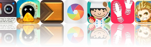 Today's Apps Gone Free: Notica, TripTrap, Cross Fingers And More