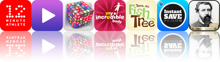 Today's Apps Gone Free: 12 Minute Athlete HIIT Workouts, Stezza, Chain3D And More