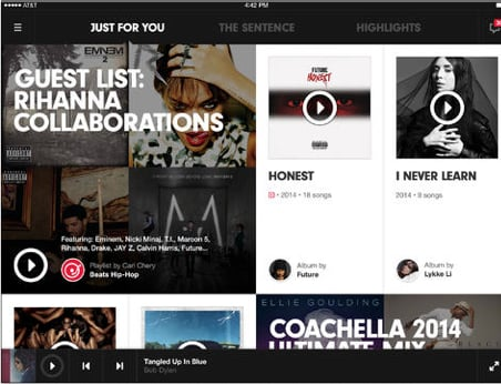 Beats Music Version 2.0 Goes Universal With Support For The iPad