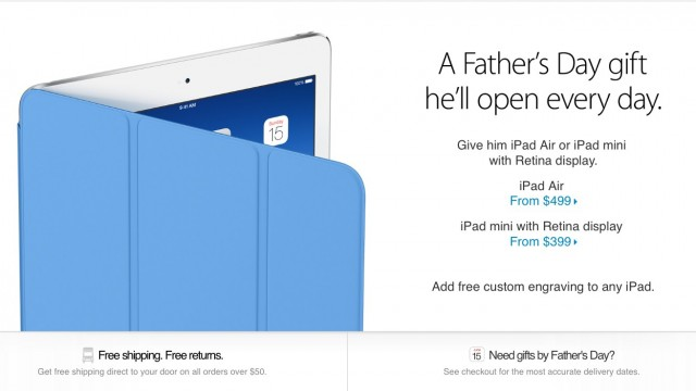 The Apple Online Store Is Offering Free Shipping Through May 29