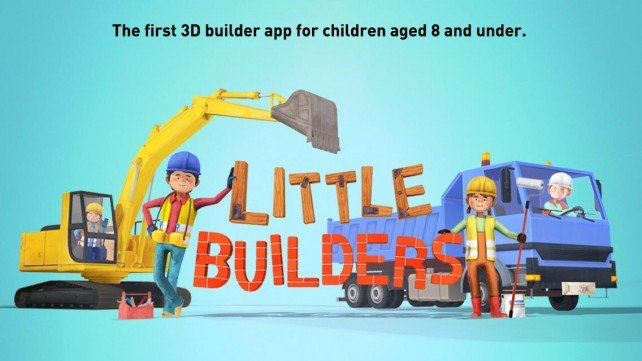 Little Builders: A Fun, Interactive iOS Game For Kids