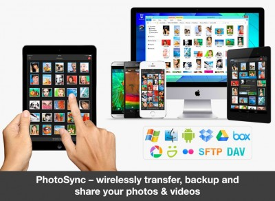 Wireless Transfer, Backup And Sharing App PhotoSync Gets Updated With New Features