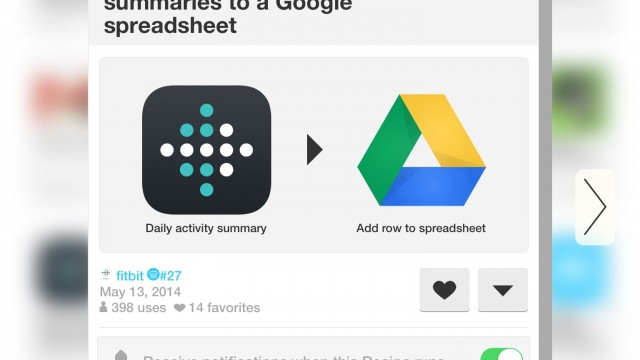 IFTTT Adds A New Channel For Fitbit's Wearable Activity Monitors