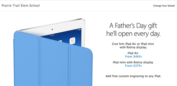 Apple Now Offering Modest Educational Discounts On iPads
