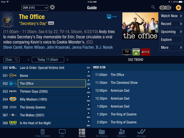 TiVo App Update Brings An iOS 7 Friendly Design And More