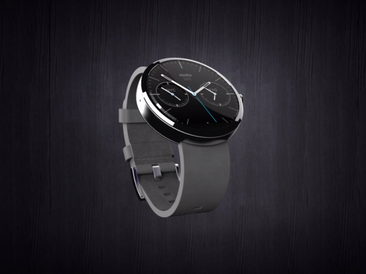 Apple's 'iWatch' May Have A Round Face And Look Similar To The Moto 360